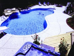 Inground pool 4