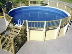 aboveground pool
