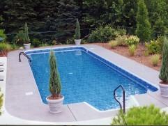 inground pool 45