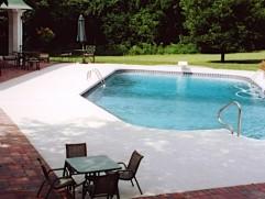 inground pool 46